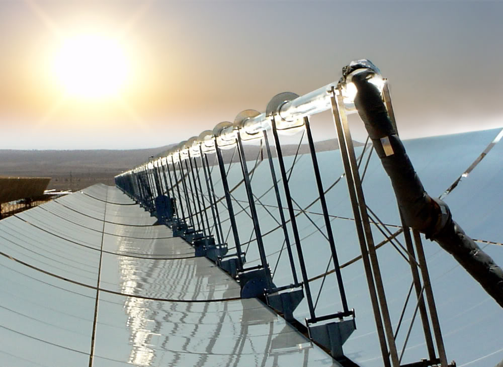 CSP parabolic trough
