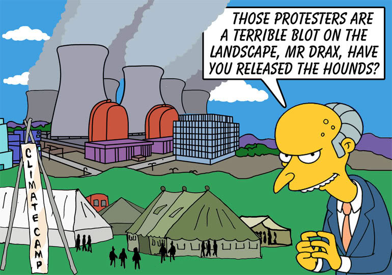 Climate Camp 2008 – Kingsnorth