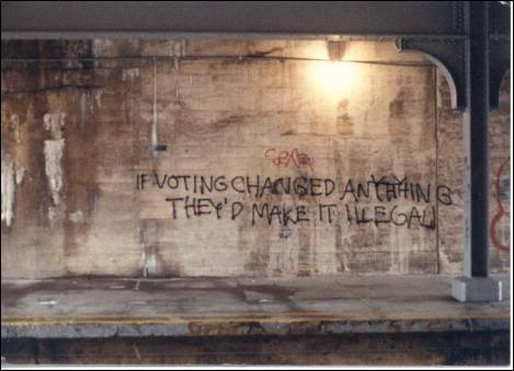 If voting changed anything...
