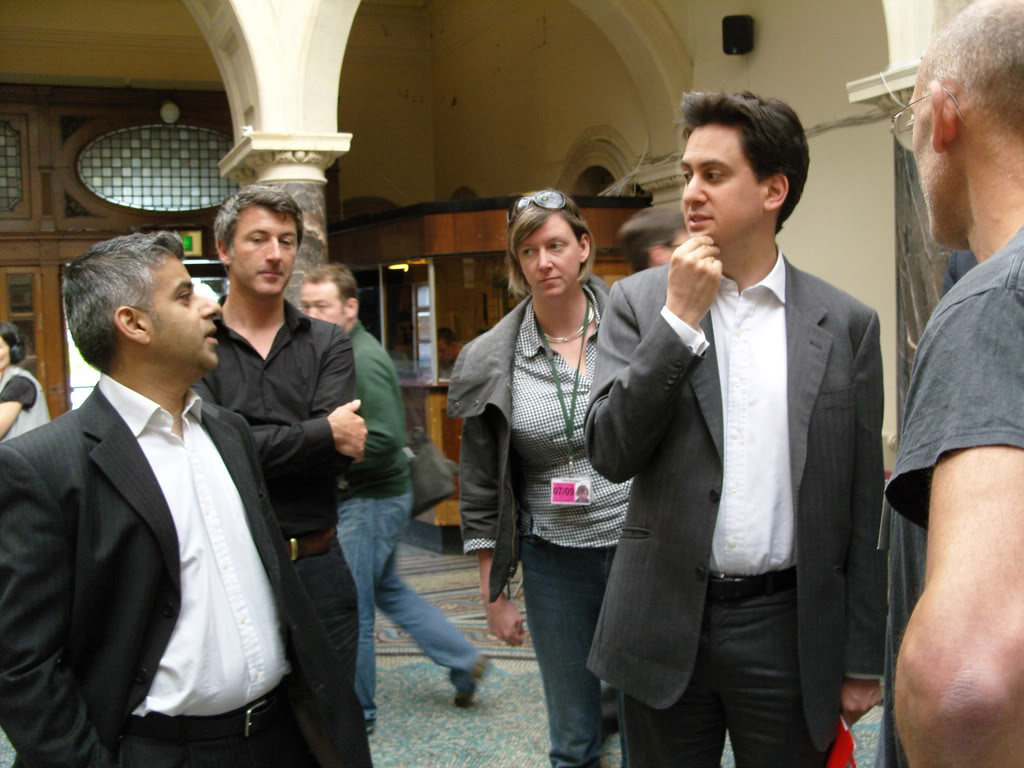 Ed Miliband at the Transition Conference
