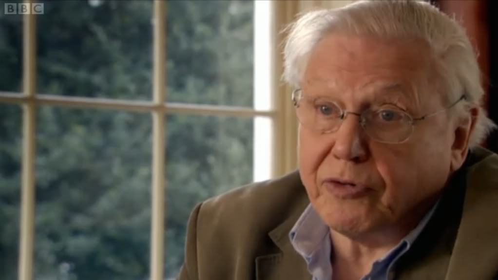 David Attenborough on global population