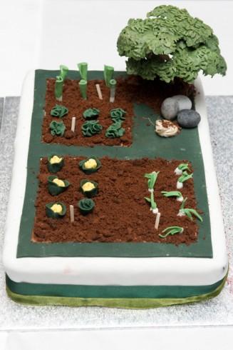 Cake - right segment