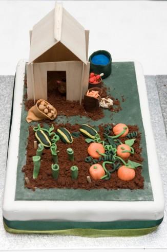 Cake - left segment