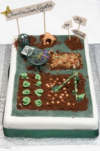 Cake - central segment