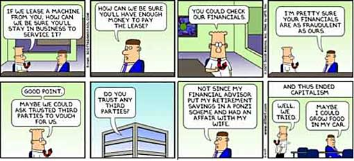 Dilbert - And Thus Ended Capitalism