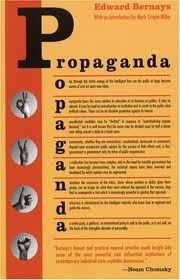 The cover of Bernays' 1928 book