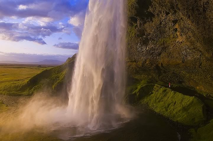 Seljellandfoss Waterfall in Iceland