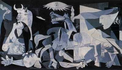 Pablo Picasso, 'Guernica', Oil on canvas, 1937.