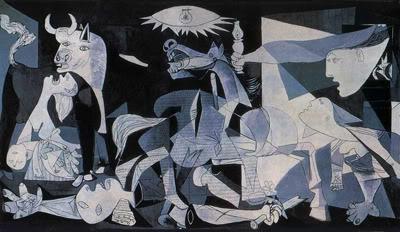 Pablo Picasso, 'Guernica', Oil on canvas, 1937.