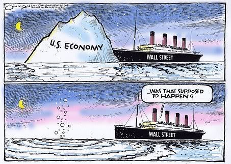 Titanic iceberg economy - Transition Money