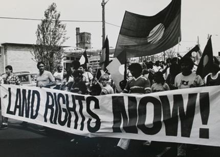 Aboriginal Land Rights Protest