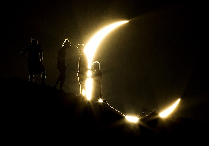 Solar Eclipse photograph - Michael Chow - The Secret Truth Behind Environmentalists' Favourite Argument