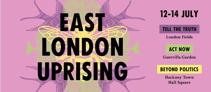 Extinction Rebellion, East London Uprising
