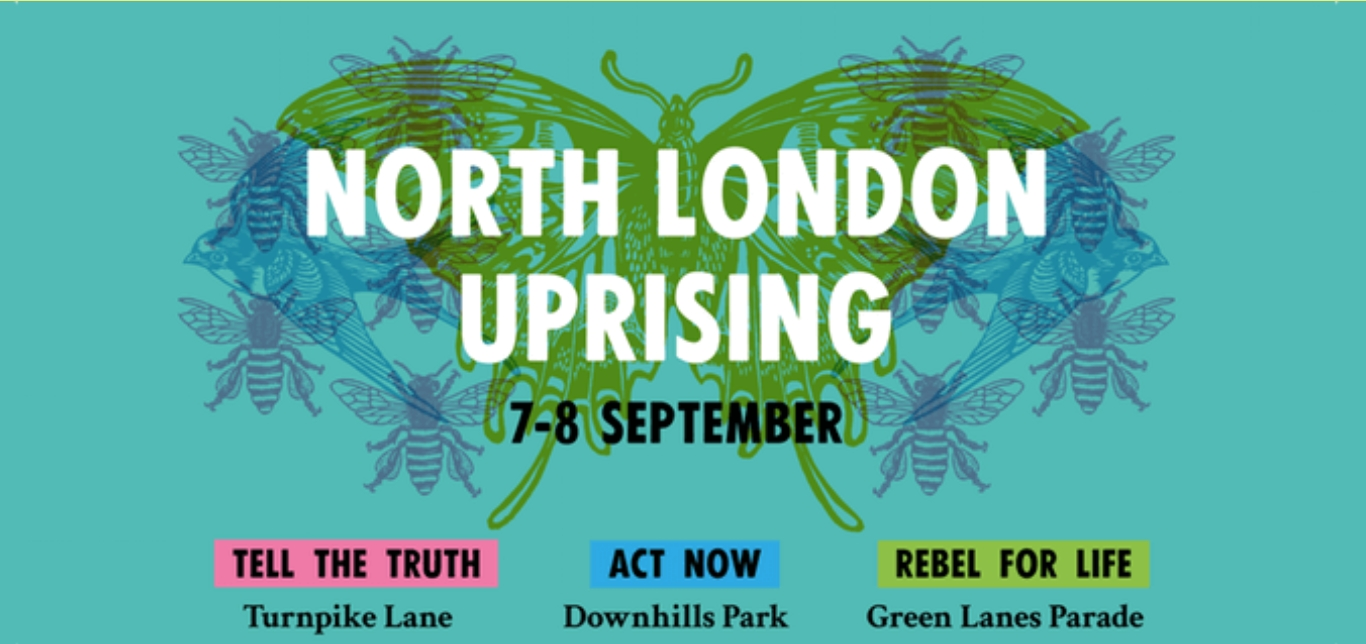 Extinction Rebellion, North London Rebel Rising