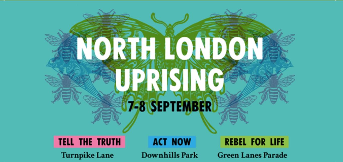 Extinction Rebellion, North London Rebel Rising