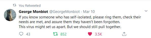 MonbiotCoronavirusTweet
