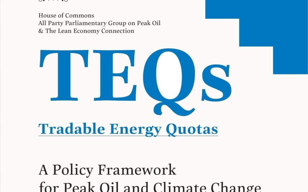 All Party Parliamentary TEQs report launch